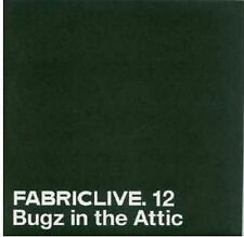 FABRICLIVE 12 BUGZ IN THE ATTIC UK promo CD card sleeve