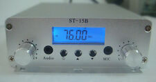 ST-15BV3 15W 76~108Mhz LCD Digital PLL stereo high-power FM transmitter amplifie