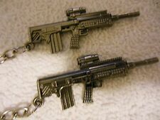 Kel Tec- Bullpup **(( Assault  Weapon ))-Keychain**Lot-of-2 **Free  Shipping***