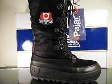 Pajar Women's Greenland Winter Snow Tall Boot - Black US SZ 7 EUR 39 BNIB