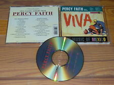 PERCY FAITH - VIVA THE MUSIC OF MEXICO & THE MUSIC BRAZIL / ALBUM-CD 1987 MINT!