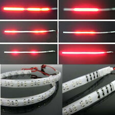 2PCS Red 30CM 32 Led Knight Rider Flash Strobe Scanner Neon Strip Light DIY