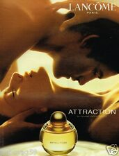 Publicité advertising 2003 Parfum Attraction de lancome