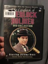 The Casebook of Sherlock Holmes - Collection (DVD, 2004, 3-Disc Set)