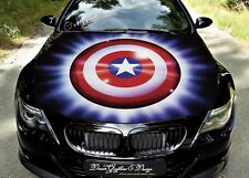 Shield Full Color Graphics Adhesive Vinyl Sticker Fit any Car Hood Bonnet #159