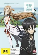 Sword Art Online Vol. 1 Aincrad Part 1 (Eps 1-7) DVD NEW