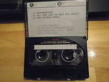 VERY RARE Hal Selzer DEMO CASSETTE TAPE Silent Witness Adrian Dodz LUXX metal !