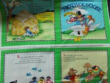 WtW Fabric Mary Engelbreit Mother Goose Book Panel Vol 3 Kid Child 2009 Quilt