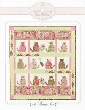 ARNIE THE CAT QUILT QUILTING PATTERN, From Bunny Hill Designs NEW