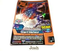 Animal Kaiser Evolution Evo Version Ver 5 Bronze Card (M142E: Giant Meteor)