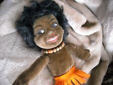 vintage antique black americana Norah nora wellings doll made in england  toy