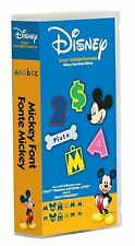 Cricut Disney Mickey Font Cartridge Use w/ Explore Expression & All Machines