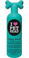 Pet Head Puppy Fun Tearless Shampoo, for Dogs and Cats Yummy Orange 16.1 oz