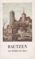 Heimatbuch === Bautzen am Steilufer der Spree, Informationsbroschüre von 1951