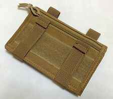 New Airsoft Tactical Arm Band (Map Pouch) Ver2 Coyote Brown