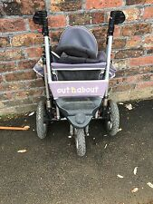 Out n About Single Nipper 360 Grey Pushchairs Single Seat Stroller