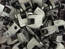 """100-New 1/2""""-13 Threaded Universal Beam Clamps with back up nut"""