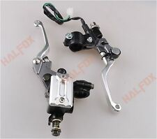 "For Yamaha YZ 80/85/125/250/426/450F 7/8"" Brake Master Cylinder Reservoir levers"