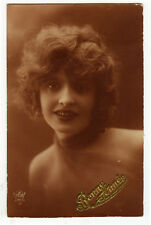 1920s French Glamour LOVELY LADY Glamor Pinup Pin-up photo postcard