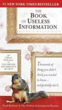 The Book of Useless Information by Botham, Noel, Good Book