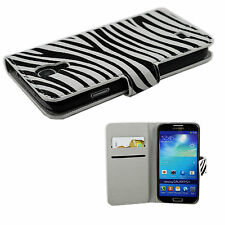 Leather Card Slot Wallet Phone Case Cover Skin For Samsung Galaxy S4 SIV i9500