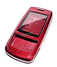 Chassis 1x COVER CELLULARE GUSCIO guscio superiore in rosso per Samsung e250