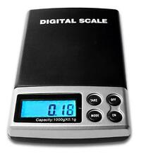 0.1 / 1000g DIGITAL POCKET WEIGHING SCALES BALANCE FOR SCRAP GOLD SILVER DIAMOND