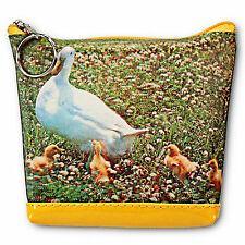 Lenticular Universal Purse Bag 3D Duck Mom and Baby Ducklings #SSP-396-PAVIA#