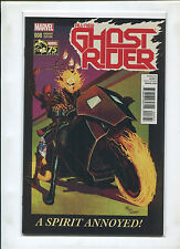 GHOST RIDER #8 MARVEL 75TH ANNIVERSARY 1:25 DEL MUNDO VARIANT (9.4 OR BETTER)