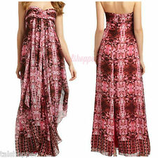 NEW $345 Laundry Shelli Segal Anthropoloie Strapless Long Maxi Gown Dress NWT 12
