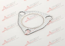 "3"" 3-BOLT HighTemp Exhaust Gasket TURBO/MANIFOLD/HEADER DOWN/DUMP PIPE FLANGE"