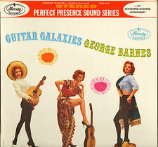 "GEORGE BARNES ""GUITAR GALAXIES"" 60'S LP STEREO MERCURY PPS 6011"