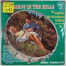 BANJO IN HILLS: Jim Jesse, Carl Story, Stanley Bros STARDAY Bluegrass ORIG LP