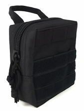 (1) SHOTGUN SHELL AMMO MODULAR MOLLE UTILITY POUCH FRONT HOOK LOOP STRAP