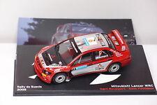 IXO ALTAYA MITSUBISHI LANCER WRC #9 RALLY SUECIA 2005 1:43