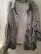 Alfred Dunner Plus Size 3X two piece shell and Jacket/Blouse