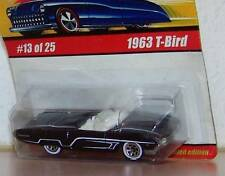 Hot Wheels Classics Series 1  1963 T-Bird Ford #13 of 25 Color: Black Variation