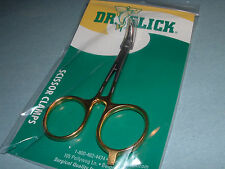 """Dr Slick 4"""" Scissor Clamp Curved Satin Stainless Clamps Fly Fishing Tool SNHC4G"""