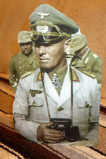"General Erwin Rommel German World War 2 Figure Tabletop Display Standee 11"" Tall"