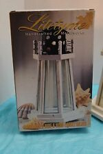 Litetyme Handcrafted Metalwork Light House Candle Holder