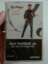 RAY PARKER JR - SEX AND THE SINGLE MAN, CASSETTE TAPE, BRAND NEW, FACTORY SEALED
