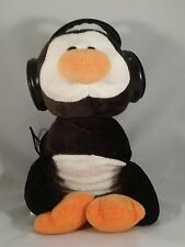 IFLOPS Twin Stereo Speakers Penguin Stuffed Animal for MP3 MP4 CD Player Radio H