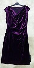 Vestido De Terciopelo Capucha ROMAN púrpura 16
