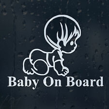 Baby On Board Car Decal Vinyl Sticker For Window Bumper Panel