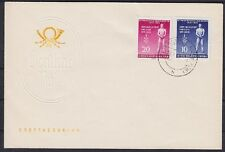 DDR FDC 459 - 460 a con sello días 09.04.1955 Altenburg, First Day cover