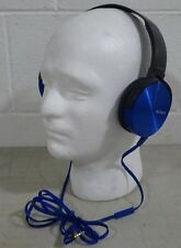 Sony MDR-XB450 Extra Bass Headphones (PLEASE READ)- Blue - (42780)