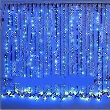 120 Feet- Set of 4 Rice home Decoration Lighting for Diwali, marriage- BLUE