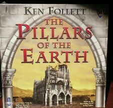 Ken follett the pillars of the earth board game. New with damages.