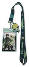 Seraph of the End Chibis Lanyard Key Chain Anime Manga NEW