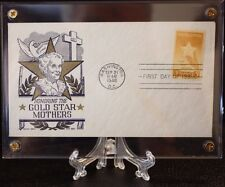 #969 GOLD STAR MOTHER  FDC.in archive safe lucite holder FREE SHIPPING +